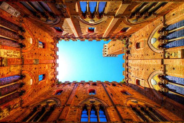 Palazzo Pubblico, Siena Italy HDR